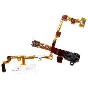Apple iPhone 3GS Headphone Jack černý sluchátkový konektor servisní díl - APL-IP3GSSP-1209