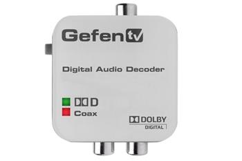Gefen převodník TV Digital Audio Dolby Digital na Analog Audio L/R RCA