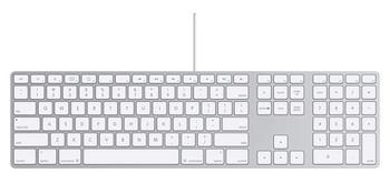 Apple ALU hliníková USB klávesnice, full size , CZ layout