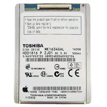 "160GB HDD Apple MacBook AIR 2008 rev. A ( 1,1) interní 1.8"" , 4200rpm ZIF konektor"