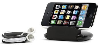 Griffin Technology TravelStand stojánek a pouzdro na sluchátka s omotávačkou pro iPod Touch nebo iPhone 3G/GS/4G/5G