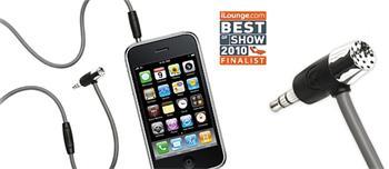 Griffin Handsfree Mic + AUX kabel s mikrofonem a tlačítkem pro iPhone 2/3/4/5 , HTC, Palm, BlackBerry a Motorola