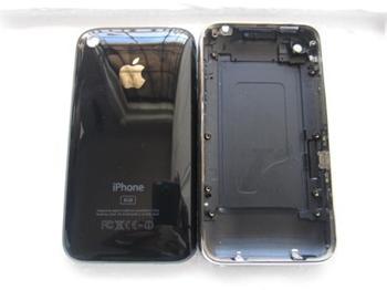 Apple iPhone 3G Rear Case 8GB Black (černé ) s chromovým rámem a tlačítky