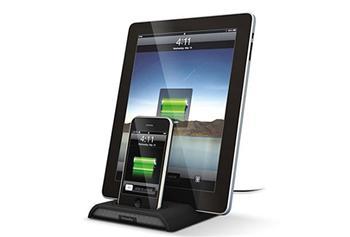 XtremeMac InCharge Duo stojánek a nabíječka pro iPad , iPhone, iPod