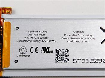 Apple baterie pro iPod Nano 5 .Generace 0.91whr 616-0470