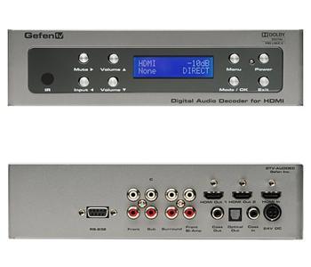 Gefen TV Digital audio decoder -digitální Audio převodník pro HDMI