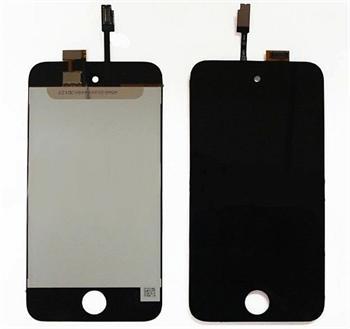 Apple iPod Touch 4.gen touch digitizer w/LCD dotykový panel a LCD kompozitní servisní díl