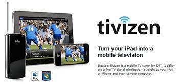 Elgato Tivizen mobilní bezdrátový DVB-T televizní příjmač pro iPod, iPhone, iPad a Mac