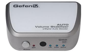 GefenTV Auto Volume Stabilizer w Digital Audio Decoder - GFN-GTV-VOLCONT-D