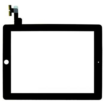 Apple iPad 2 touch screen digitizer black - dotykový panel pro Apple iPAD 2 černý