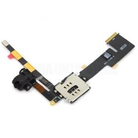 Apple iPad 2 flex headphone cable wifi+3G - sluchátkový konektor pro Apple iPad 2 Wifi+3G