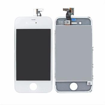 Apple iPhone 4G Touch + LCD OEM kompletní přední díl iPhone 4G bílý