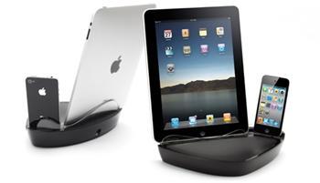 Griffin Technology PowerDock Dual - stolní nabíječka pro Apple iPhone a iPad