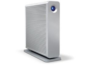 3TB LaCie D2 QUADRA V3 HDD eSATA 3Gbit / 2x FW 800 / USB 3.0 profi externí pevný disk LAC301549EK