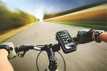 muvit Extreme Universal Bike Mout - voděodolné pouzdro na iPhone s držákem na kolo