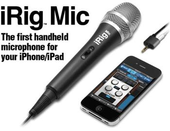 IKM iRig MIC externí mikrofon pro Apple iPad , iPhone a iPod