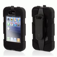 Griffin Technology Survivor - extrémně odolný pevný obal pro Apple iPhone 4 /4S černý