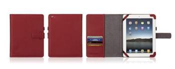Griffin ELAN PASSPORT obal pro Apple iPad 2 /3 /4 červený - GT-GB02421