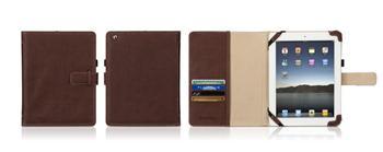Griffin ELAN PASSPORT obal pro Apple iPad 2 /3 hnědý - GT-GB02422