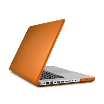 Speck SeeThru SATIN polykarbonátové pouzdro pro MacBook Pro 15 unibody - oranžová Clementine