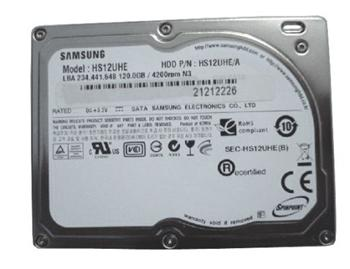 "120GB HDD Apple MacBook AIR rev. B, C interní 1.8"" LIFS SATA Samsung"