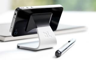 BlueLounge MILO stojánek pro Apple iPhone a Apple Watch - bílý
