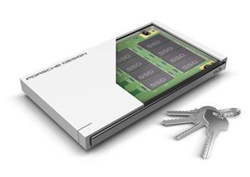 120GB LaCie Porsche Design Mobile Drive P'9223 SLIM SSD USB 3.0 přenosný disk