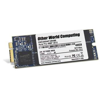 "480GB OWC Aura Pro 6G SSD disk pro 13"" & 15"" MacBook Pro RETINA 2012- early 2013"