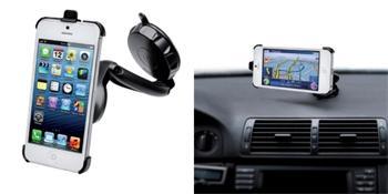 CellyDesign FLEXGO pro iPhone 5 / 5S držák do auta / sklo, palubní deska