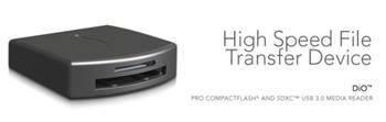 Sonnett DIO USB 3.0 profi čtečka karet CompactFlash a SD, SDHC, SDXC pro Mac OSX