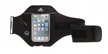 Griffin Adidas miCoach sportovní pouzdro armband Apple iPhone SE/ 5 / 5S /5C , iPod Touch 5 černé