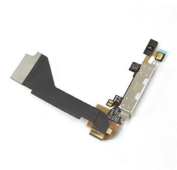 Apple iPhone 4G Dock connector flex cable - dockový obvod 821-1093-A bílý