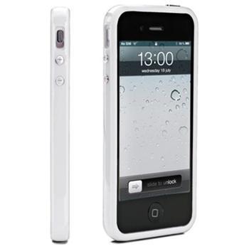 Muvit Belt ochranný rámeček bumper pro iPhone 5, bílý