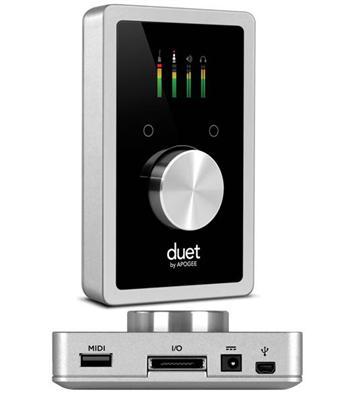 Apogee DUET 2 iOS USB 2.0 audio interface pro Mac /iPad /iPhone