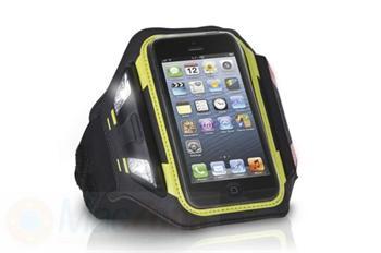 Xtreme Mac Sportwrap LED armband sportovní pouzdro s LED světlem pro iPhone SE/ 5 / 5S / 5c