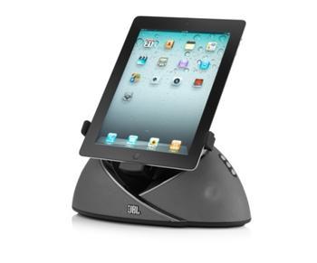 JBL On Beat Air Play reproduktory s podporou bezdrátového přenosu AirPlay pro Apple iPad , iPhone, iPod černé