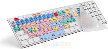 Logic Keyboard LogicSkin na Apple klávesnici pro Adobe Premiere CS6