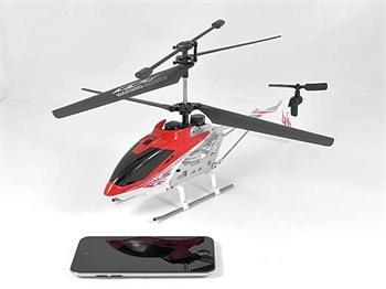 iSuper iHELI 032 - helikoptéra ovládaná přes Bluetooth , gyro stabilizace pro iPhone , iPad , iPod