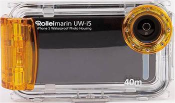 Rollei UW-i5 vodotěsný obal Apple iPhone 5 /5S pro potápění do 40m , žlutý waterproof
