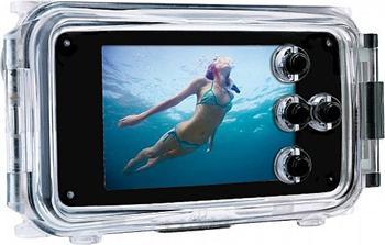 Rollei UW-i4 vodotěsný obal Apple iPhone 4/4S pro potápění do 40m , černý waterproof