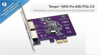 Sonnet Tempo SATA PRO 6Gb PCIe 2.0 řadič pro Mac OSX ( 2x external eSATA 3) TSATA6-PRO-E2