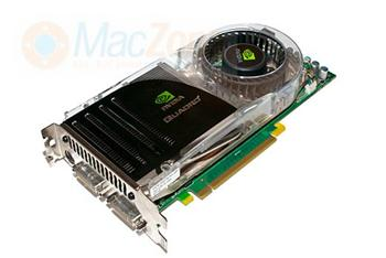 NVIDIA Quadro FX 4600 PCIe grafická karta pro Apple MacPro 1.generace