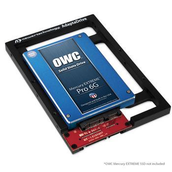 """Newer Technology ADAPTADRIVE kovový rámeček na SATA 2,5"""" HDD/SDD do 3,5"""" pozice pro Apple MacPro , iMac, disková pole, boxy"""