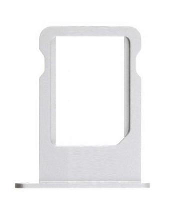 Apple iPhone 5S Nano SIM Tray - šuplík na Nano SIM kartu pro iPhone 5S stříbrný