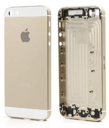 Apple iPhone 5S Back cover assembly gold - zadní kryt a kovový rám pro iPhone 5S zlatý OEM