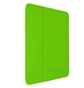 Aiino iPad Air Graphite - obal pro iPad Air s držákem na pero zelený