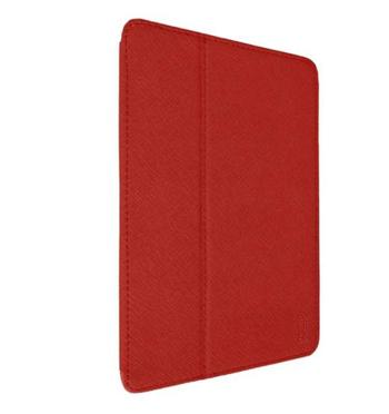 Aiino iPad Air Graphite - obal pro iPad Air s držákem na pero červený