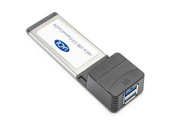 LaCie USB 3.0 Express Card 3/4 (2 ports) - Mac OSX / PC kompatibilní - otevřené balení