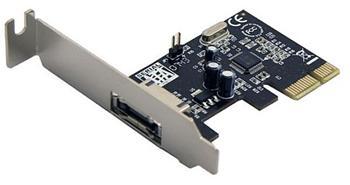 Generic PCIe SATA 2 řadič 1x eSATA externí port, Jmicron JMB360 chipset