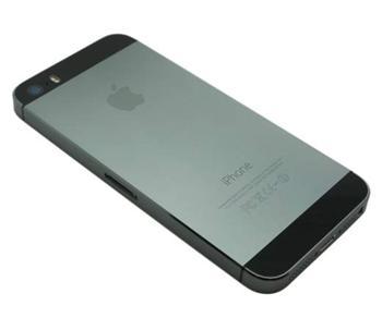 Apple iPhone 5S Back cover assembly black - zadní kryt a kovový rám pro iPhone 5S černý OEM